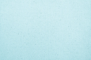 Muslin woven texture background light pale blue mint color