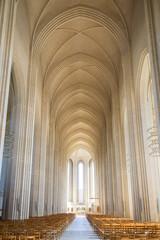 Grundtvigs Church in Copenhagen, Denmark