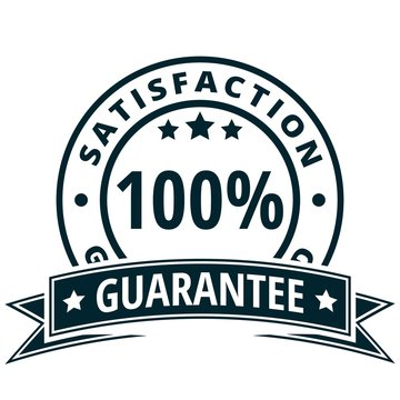100% Satisfaction Guarantee illustration
