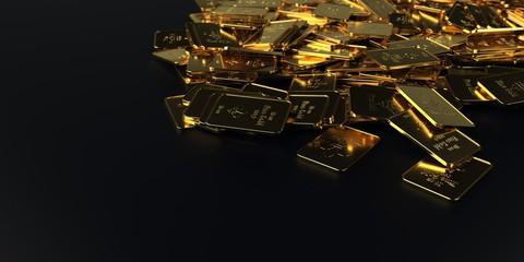 Fototapete - Fine Gold Bars 10 Oz