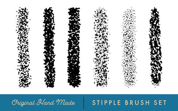 Stipple Brush Set for Texturing and Shadow (Intense)