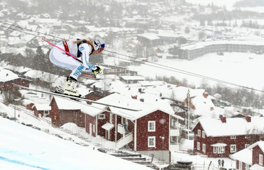 Alpine Skiing - FIS Alpine World Ski Championships - Women's Alpine Combined - Downhill