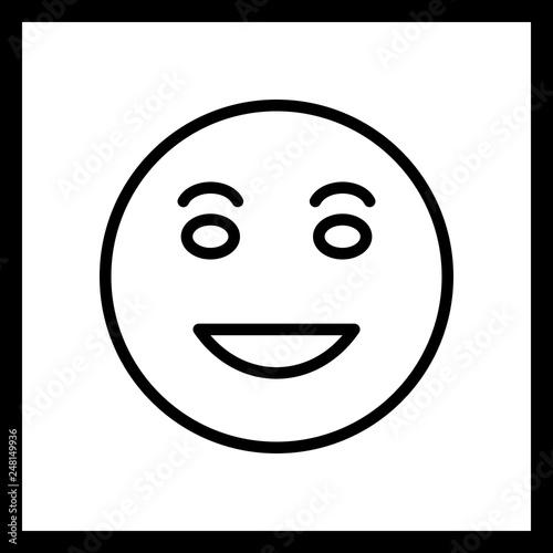 Vector Lol Emoji Icon