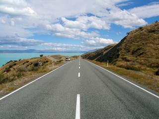 long straigth road