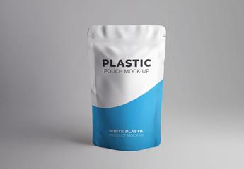 Plastic Pouch Mockup