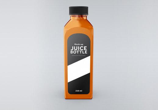 Juice Bottle Mockup