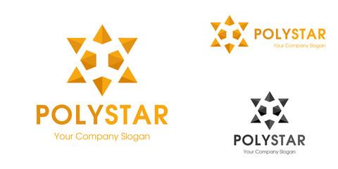 Poly Star Logo Template