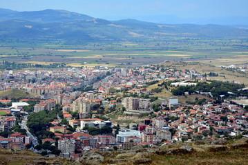 Widok z Pergamon, Turcja
