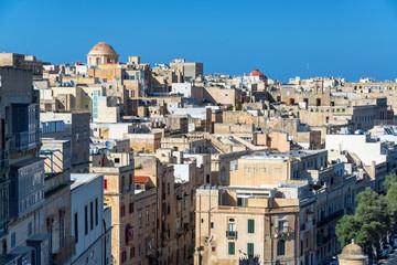 Cityscape View of Valletta, Malta
