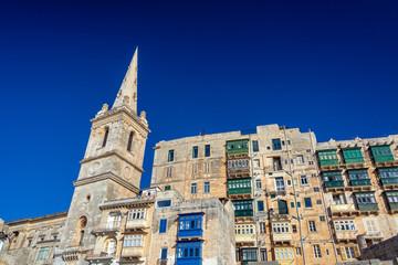 Fototapete - Beautiful Valletta, Malta
