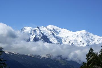 Mont Blanc. Alpy. Szwajcaria, Europa