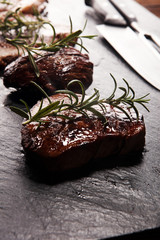 Barbecue Rib Eye Steak - Dry Aged Wagyu Entrecote Steak