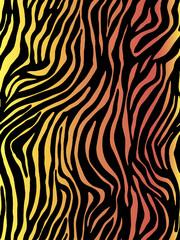 Vector animal print. Zebra ornament. Seamless pattern