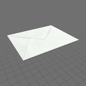 Small envelope closed