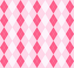 Valentine dayr Argyle. Pattern Scottish cage