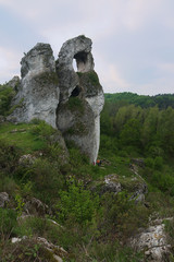 Jurassic mountain poland