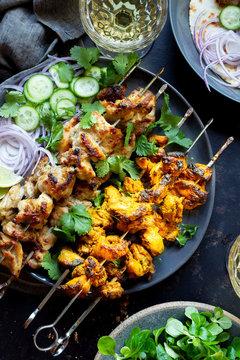 Chicken Kebab Dinner