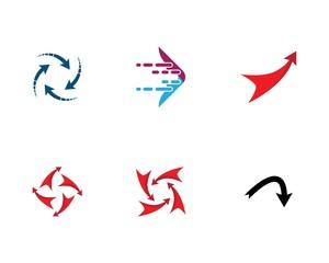 Arrow symbol illustration