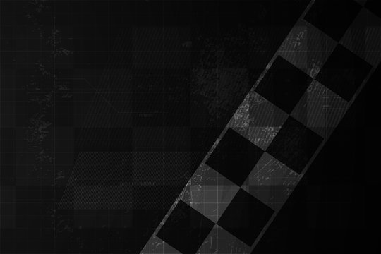 Racing square background,  abstraction in car track. vector illustration eps10