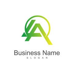 LA logo template