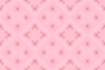 3d rendering. seamless sweet soft pink color tone grid square art pattern tile for any design wall background.