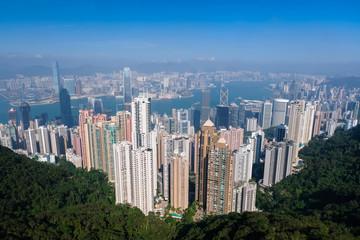 香港 ビクトリアピーク 展望台からの景色