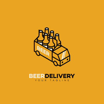 Beer delivery logo