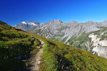 Sentier du Parc national de la Vanoise
