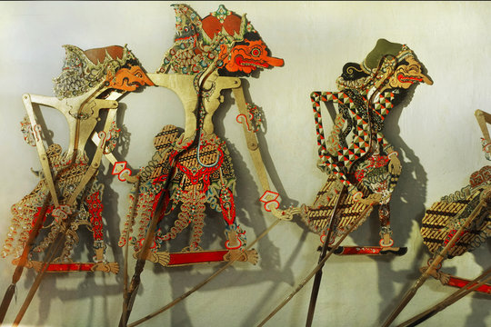 wayang puppet a traditional javanese culture from indonesia