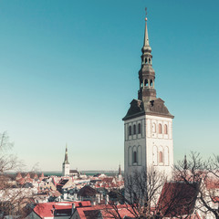 Tallinn, Estonia. St. Nicholas Church