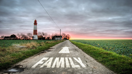 Sign 392 - Family
