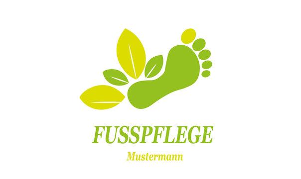 Fusspflege Logo  Podologie