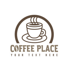 Coffee cup icon symbol vector illustration isolated on white background