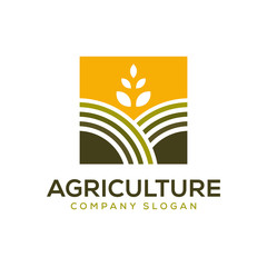 agriculture logo design template 01