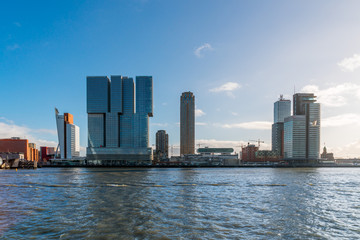 Rotterdam river water front
