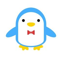 蝶ネクタイをしたペンギン
