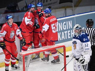 IceHockey-SwedenHockeyGames - Finland v Czech Republic