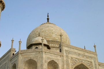 Taj Mahal of Agra. India. Unesco World Heritage Site