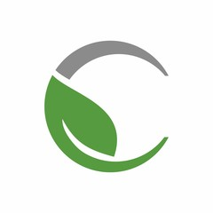 Leaf, tree, water drop logo design template vector illustration