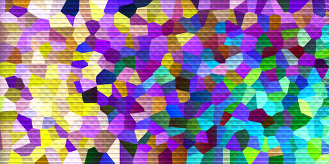 abstract background crystals style