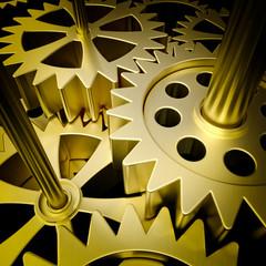gold mechanism