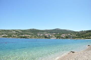 sand beach in croatia