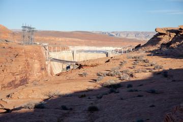 Glen Canyon Dam Overlook, Arizona