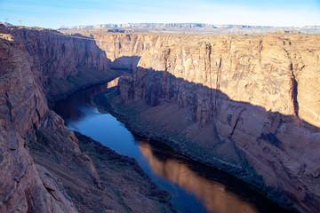 Marble Canyon below Glen Canyon Dam, Arizona