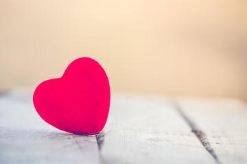 Red heart St. Valentine background