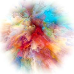 Painted Color Splash Explosion
