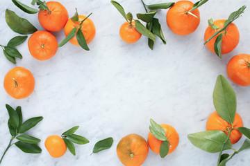 Mandarin Oranges Border