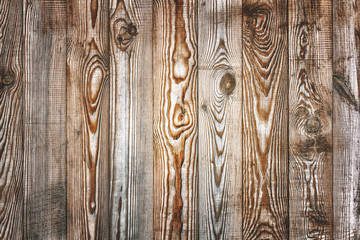 Aged natural background from wooden planks