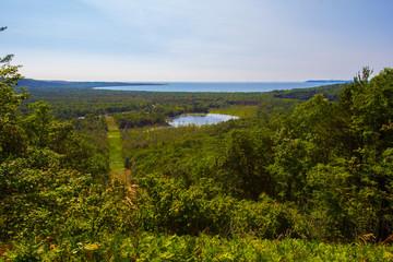 Miller Hill Lookout, Sleeping Bear Dunes National Lakeshore, Michigan