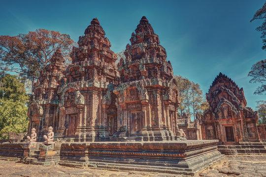 Banteay Srei temple angkor wat unesco world heritage site